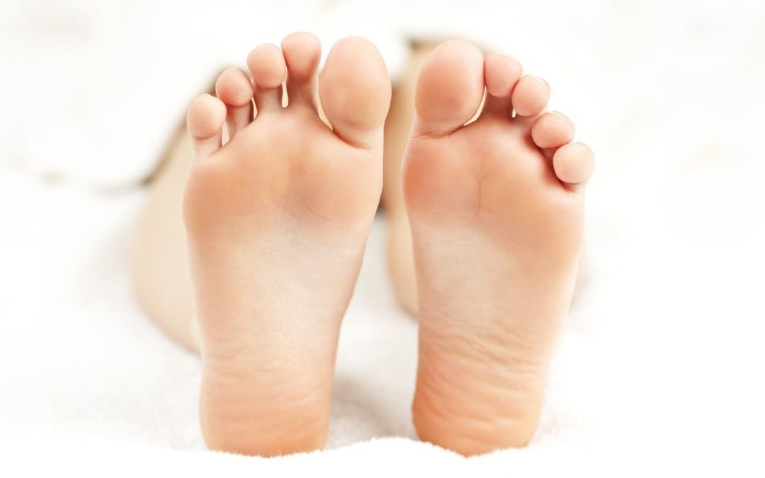 Did you know caring for your feet can help heal your spine?